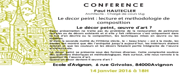 Flyer conférence PH simple
