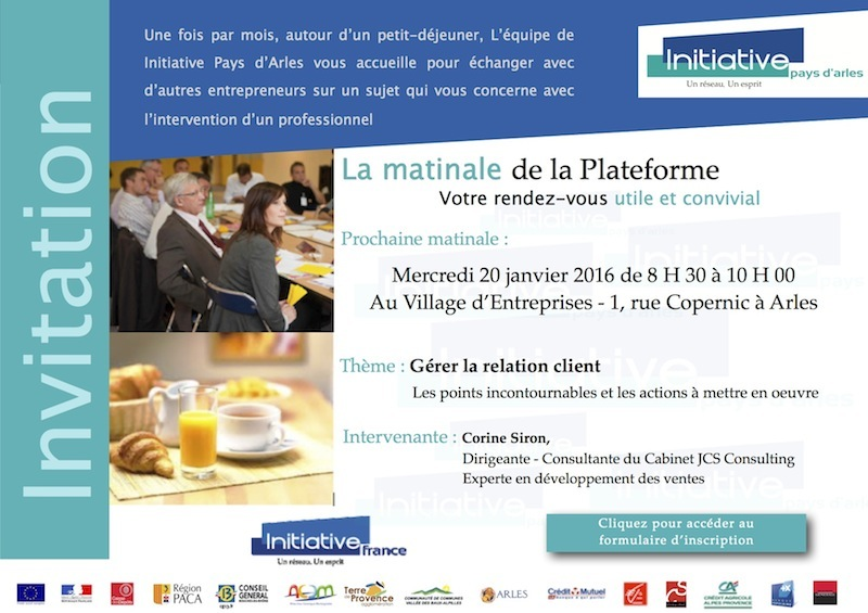 invitation matinale - 20 avril 2015
